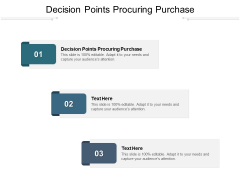 Decision Points Procuring Purchase Ppt PowerPoint Presentation Ideas Graphics Design Cpb Pdf