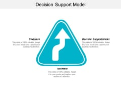Decision Support Model Ppt Powerpoint Presentation Pictures Visuals Cpb