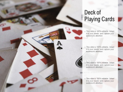 Deck Of Playing Cards Ppt PowerPoint Presentation Gallery File Formats