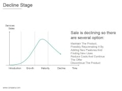 Decline Stage Ppt PowerPoint Presentation Inspiration