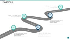 Declining Of A Motor Vehicle Company Roadmap Microsoft PDF