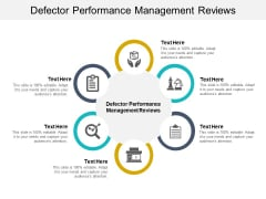 Defector Performance Management Reviews Ppt PowerPoint Presentation Model Elements Cpb Pdf