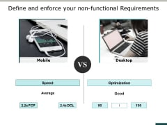 Define And Enforce Your Non Functional Requirements Ppt PowerPoint Presentation Gallery Samples