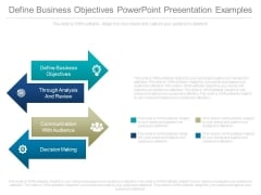 Define Business Objectives Powerpoint Presentation Examples