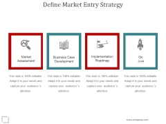 Define Market Entry Strategy Ppt PowerPoint Presentation Examples