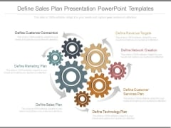 Define Sales Plan Presentation Powerpoint Templates