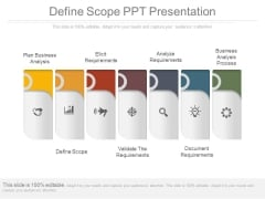 Define Scope Ppt Presentation