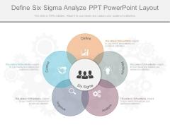 Define Six Sigma Analyze Ppt Powerpoint Layout