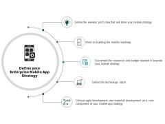 Define Your Enterprise Mobile App Strategy Ppt PowerPoint Presentation Layouts Sample