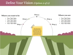 Define Your Vision Template 2 Ppt PowerPoint Presentation Infographic Template Sample