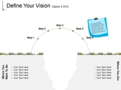 Define Your Vision Template 2 Ppt PowerPoint Presentation Portfolio Demonstration