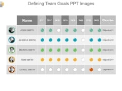 Defining Team Goals Ppt Images