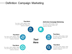 Definition Campaign Marketing Ppt PowerPoint Presentation Portfolio Outfit Cpb