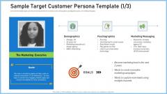 Definitive Guide Creating Strategy Sample Target Customer Persona Template Goal Mockup PDF