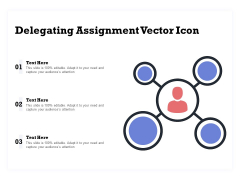Delegating Assignment Vector Icon Ppt PowerPoint Presentation Layouts Model