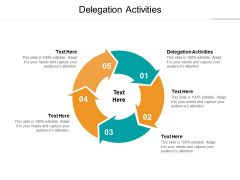 Delegation Activities Ppt PowerPoint Presentation Graphics Cpb