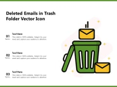 Deleted Emails In Trash Folder Vector Icon Ppt PowerPoint Presentation File Graphics Download PDF