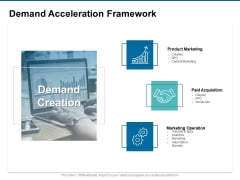 Demand Acceleration Framework Ppt PowerPoint Presentation Styles Outfit