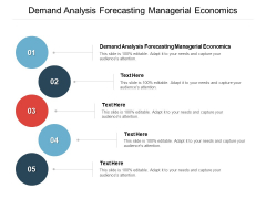 Demand Analysis Forecasting Managerial Economics Ppt PowerPoint Presentation Slides Deck