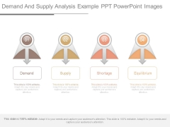 Demand And Supply Analysis Example Ppt Powerpoint Images