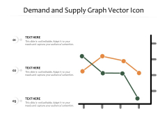 Demand And Supply Graph Vector Icon Ppt PowerPoint Presentation File Format PDF