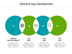 Demand App Development Ppt PowerPoint Presentation Ideas Picture Cpb Pdf