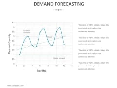 Demand Forecasting Template 2 Ppt PowerPoint Presentation Slides Deck