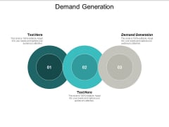 Demand Generation Ppt PowerPoint Presentation Gallery Microsoft Cpb