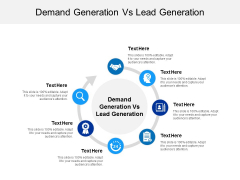 Demand Generation Vs Lead Generation Ppt PowerPoint Presentation Outline Examples Cpb
