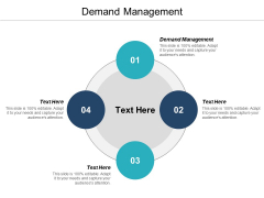 Demand Management Ppt PowerPoint Presentation Infographics Example Topics Cpb