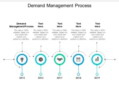 Demand Management Process Ppt PowerPoint Presentation Infographic Template Introduction Cpb