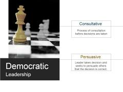 Democratic Leadership Ppt PowerPoint Presentation Gallery