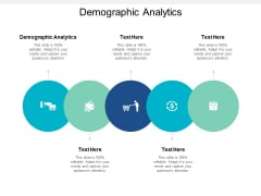 Demographic Analytics Ppt PowerPoint Presentation Show Visuals Cpb
