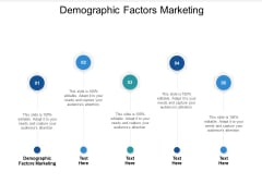 Demographic Factors Marketing Ppt PowerPoint Presentation File Sample