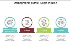 Demographic Market Segmentation Ppt PowerPoint Presentation Portfolio Visual Aids Cpb