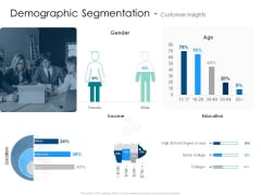 Demographic Segmentation Customer Insights Gender Background PDF