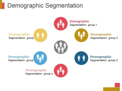 Demographic Segmentation Ppt PowerPoint Presentation Icon