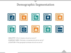 Demographic Segmentation Template 2 Ppt PowerPoint Presentation Styles Templates
