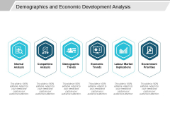 Demographics And Economic Development Analysis Ppt PowerPoint Presentation File Icon