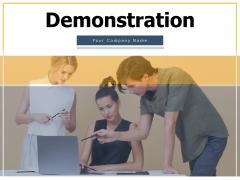Demonstration Checklist Product Ppt PowerPoint Presentation Complete Deck