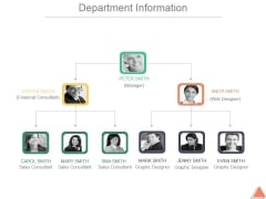Department Information Ppt PowerPoint Presentation Designs