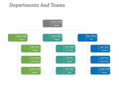 Departments And Teams Template 2 Ppt PowerPoint Presentation Summary Grid