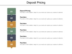 Deposit Pricing Ppt PowerPoint Presentation Model Example Topics Cpb