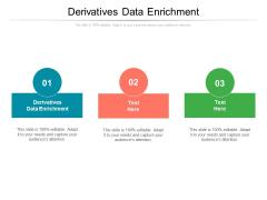 Derivatives Data Enrichment Ppt PowerPoint Presentation Layouts Background Cpb Pdf