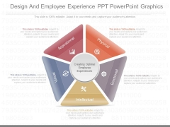 Design And Employee Experience Ppt Powerpoint Graphics