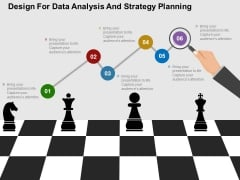 Design For Data Analysis And Strategy Planning Powerpoint Templates