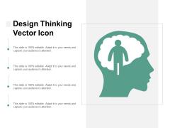 Design Thinking Vector Icon Ppt PowerPoint Presentation Icon Diagrams