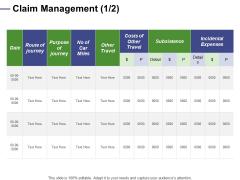 Designing Compensation Systems For Professionals Claim Management Subsistence Portrait PDF