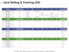 Designing Compensation Systems For Professionals Goal Setting And Tracking Task Inspiration PDF