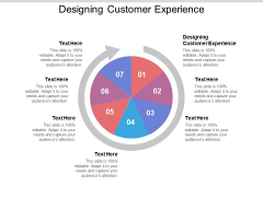 Designing Customer Experience Ppt PowerPoint Presentation Infographics Grid Cpb Pdf